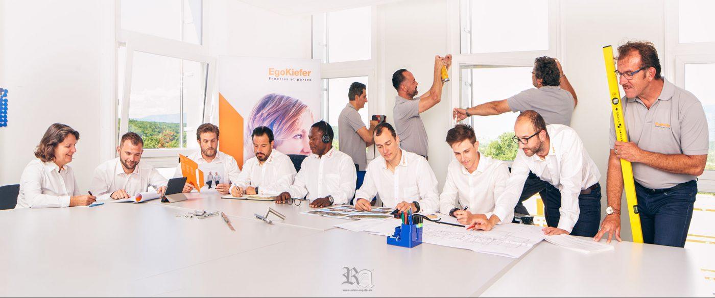 Photo des employés de Egokiefer à Genève